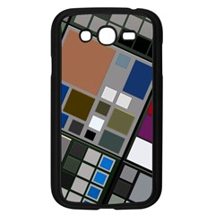 Abstract Composition Samsung Galaxy Grand Duos I9082 Case (black)
