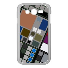 Abstract Composition Samsung Galaxy Grand Duos I9082 Case (white)
