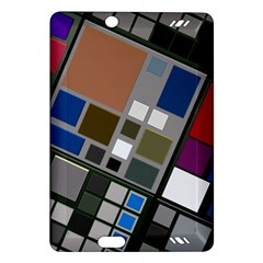 Abstract Composition Amazon Kindle Fire Hd (2013) Hardshell Case