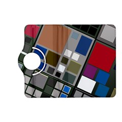 Abstract Composition Kindle Fire Hd (2013) Flip 360 Case by Nexatart