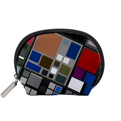 Abstract Composition Accessory Pouches (small)  by Nexatart