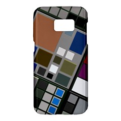 Abstract Composition Samsung Galaxy S7 Hardshell Case