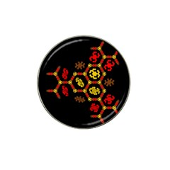 Algorithmic Drawings Hat Clip Ball Marker (4 Pack)
