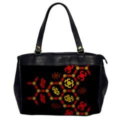Algorithmic Drawings Office Handbags by Nexatart