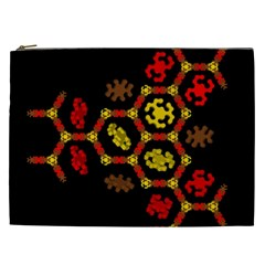 Algorithmic Drawings Cosmetic Bag (xxl)  by Nexatart