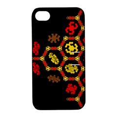 Algorithmic Drawings Apple Iphone 4/4s Hardshell Case With Stand