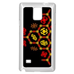 Algorithmic Drawings Samsung Galaxy Note 4 Case (white)
