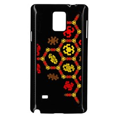 Algorithmic Drawings Samsung Galaxy Note 4 Case (black)