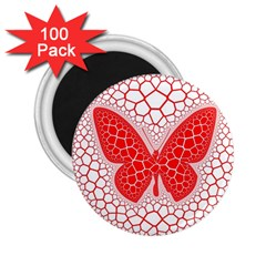 Butterfly 2 25  Magnets (100 Pack)  by Nexatart
