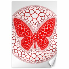 Butterfly Canvas 24  X 36