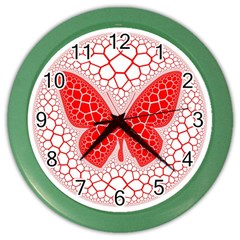 Butterfly Color Wall Clocks