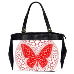 Butterfly Office Handbags (2 Sides)  by Nexatart