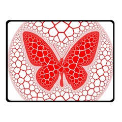 Butterfly Fleece Blanket (small)