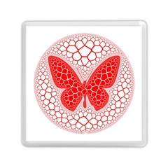 Butterfly Memory Card Reader (square)  by Nexatart
