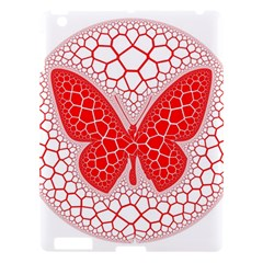Butterfly Apple Ipad 3/4 Hardshell Case by Nexatart