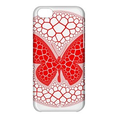 Butterfly Apple Iphone 5c Hardshell Case by Nexatart