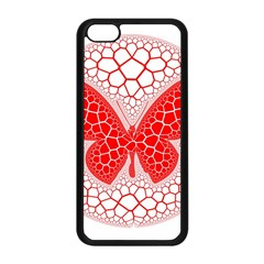 Butterfly Apple Iphone 5c Seamless Case (black)