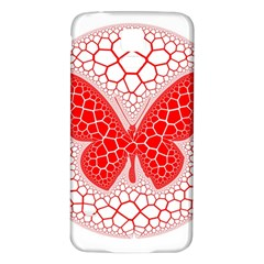 Butterfly Samsung Galaxy S5 Back Case (white)