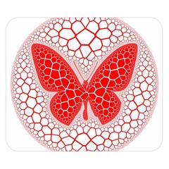 Butterfly Double Sided Flano Blanket (small)