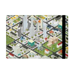Simple Map Of The City Apple Ipad Mini Flip Case