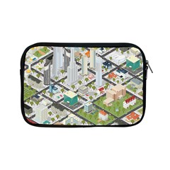 Simple Map Of The City Apple Ipad Mini Zipper Cases by Nexatart