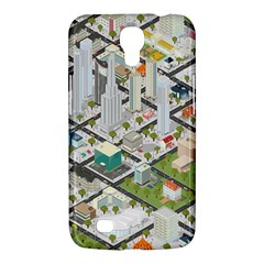 Simple Map Of The City Samsung Galaxy Mega 6 3  I9200 Hardshell Case