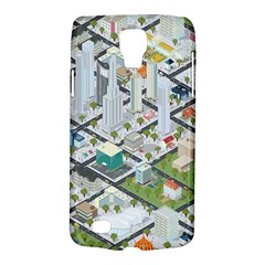 Simple Map Of The City Galaxy S4 Active by Nexatart