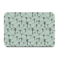 Telephone Lines Repeating Pattern Plate Mats by Nexatart