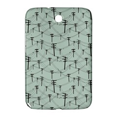 Telephone Lines Repeating Pattern Samsung Galaxy Note 8 0 N5100 Hardshell Case