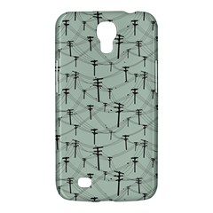 Telephone Lines Repeating Pattern Samsung Galaxy Mega 6 3  I9200 Hardshell Case by Nexatart