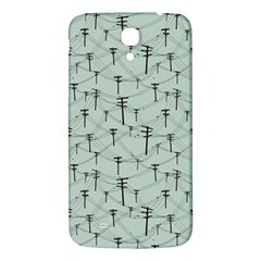 Telephone Lines Repeating Pattern Samsung Galaxy Mega I9200 Hardshell Back Case