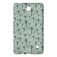 Telephone Lines Repeating Pattern Samsung Galaxy Tab 4 (7 ) Hardshell Case