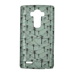 Telephone Lines Repeating Pattern Lg G4 Hardshell Case