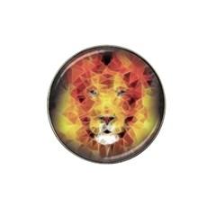 Fractal Lion Hat Clip Ball Marker