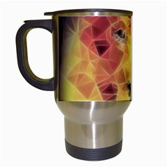 Fractal Lion Travel Mugs (white)
