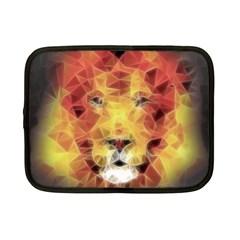Fractal Lion Netbook Case (small)