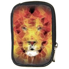 Fractal Lion Compact Camera Cases by Nexatart