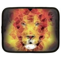 Fractal Lion Netbook Case (xl)
