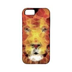 Fractal Lion Apple Iphone 5 Classic Hardshell Case (pc+silicone)