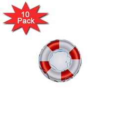 Spare Tire Icon Vector 1  Mini Buttons (10 Pack)  by Nexatart