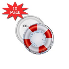 Spare Tire Icon Vector 1 75  Buttons (10 Pack)
