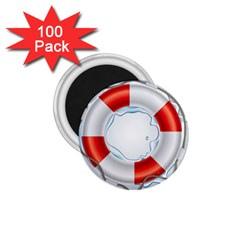 Spare Tire Icon Vector 1 75  Magnets (100 Pack)