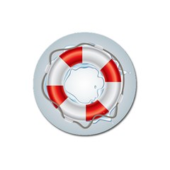 Spare Tire Icon Vector Magnet 3  (round)