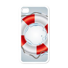 Spare Tire Icon Vector Apple Iphone 4 Case (white)