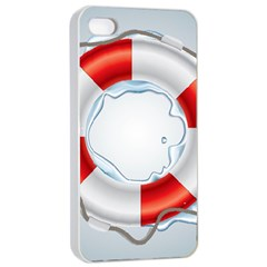 Spare Tire Icon Vector Apple Iphone 4/4s Seamless Case (white)