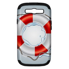 Spare Tire Icon Vector Samsung Galaxy S Iii Hardshell Case (pc+silicone)
