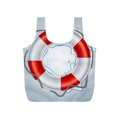 Spare Tire Icon Vector Full Print Recycle Bags (s)