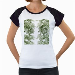 Trees Tile Horizonal Women s Cap Sleeve T