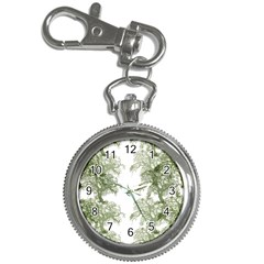 Trees Tile Horizonal Key Chain Watches