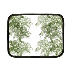 Trees Tile Horizonal Netbook Case (small)